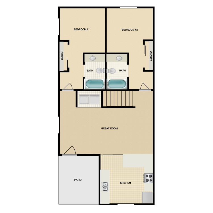 Floor plan image of Long Peak
