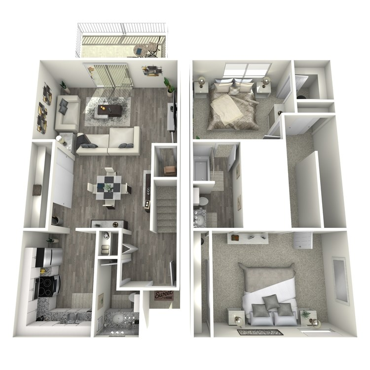 Floor plan image of TH1
