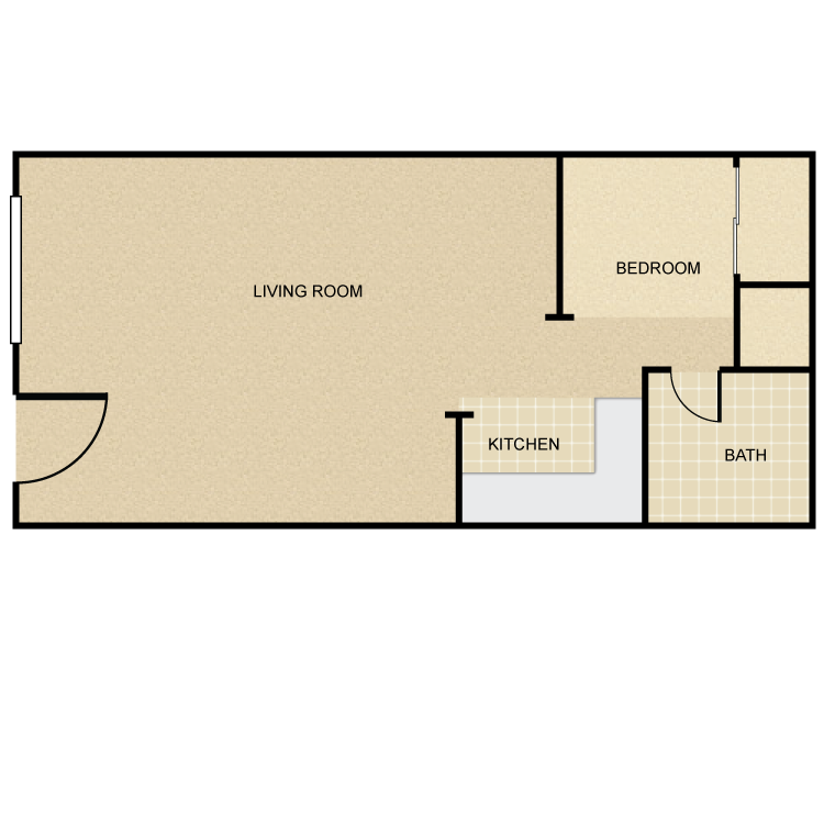Floor plan image of Kona