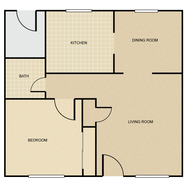 Floor plan image of Bungalow