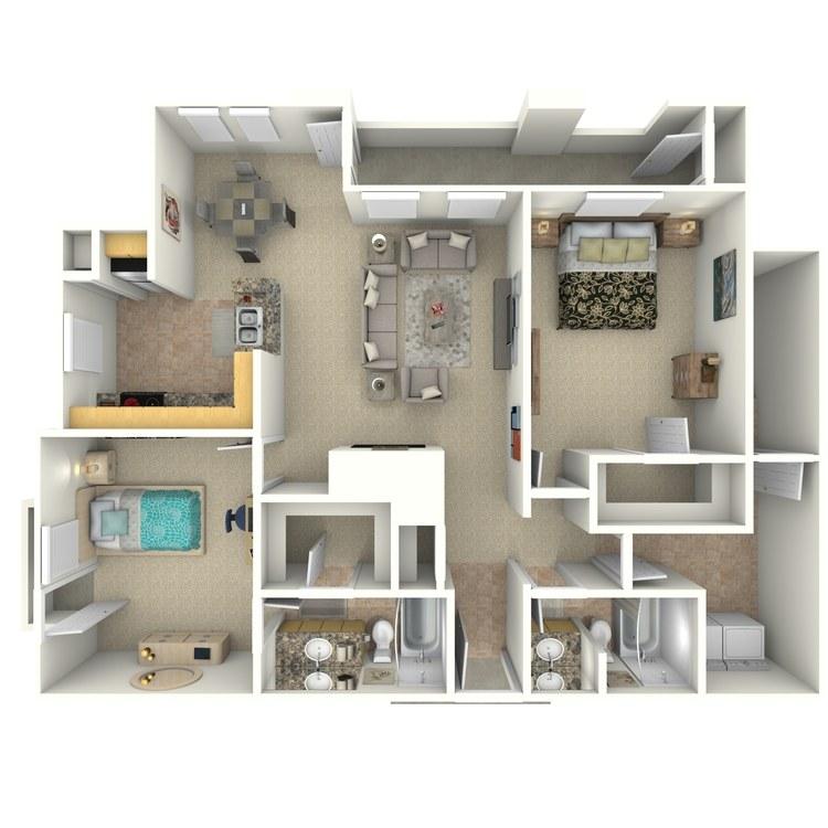Floor plan image of B2b