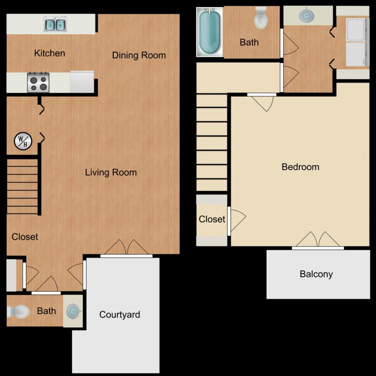 Floor plan image of Belle
