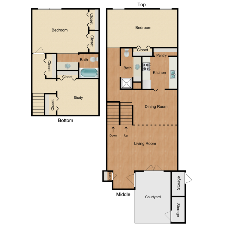 Floor plan image of Page