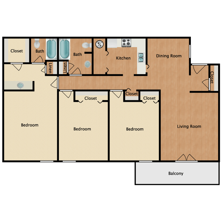 Floor plan image of Percy