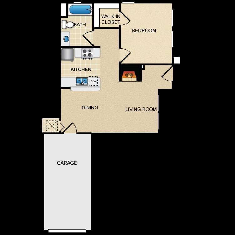 Floor plan image of Via Capri