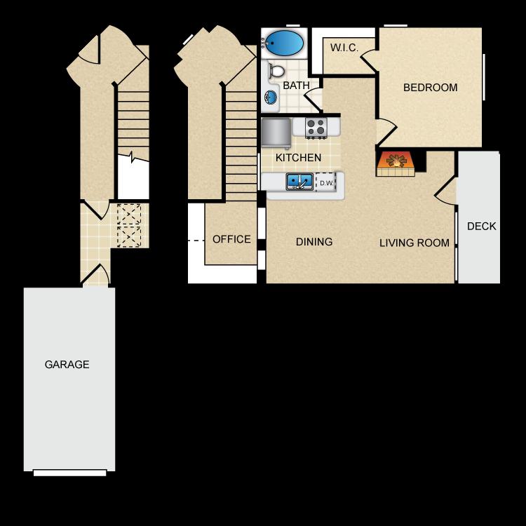 Floor plan image of Via Caserta