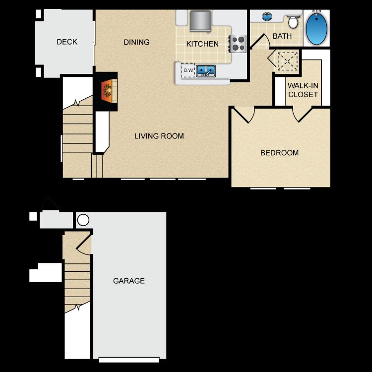 Floor plan image of Via Laman