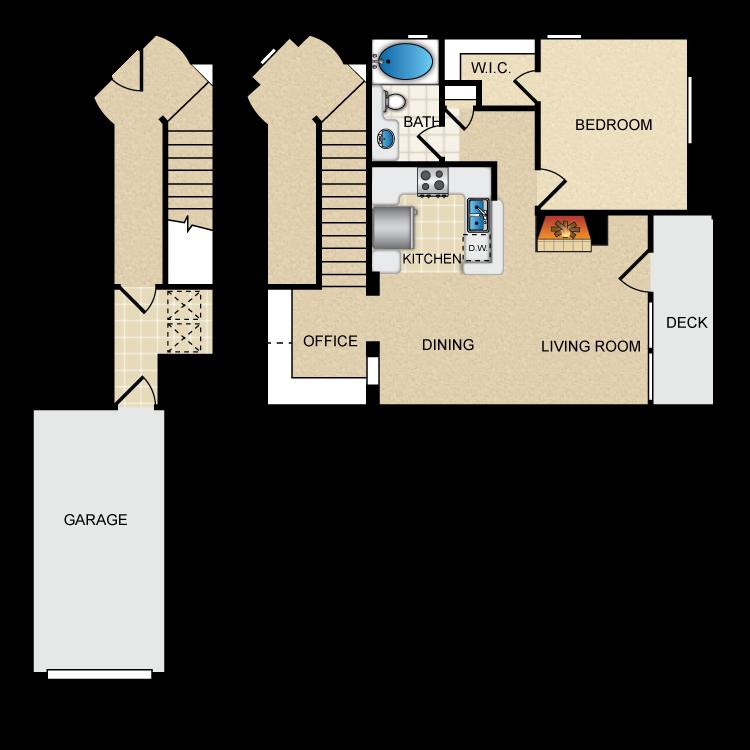 Floor plan image of Via Napoli