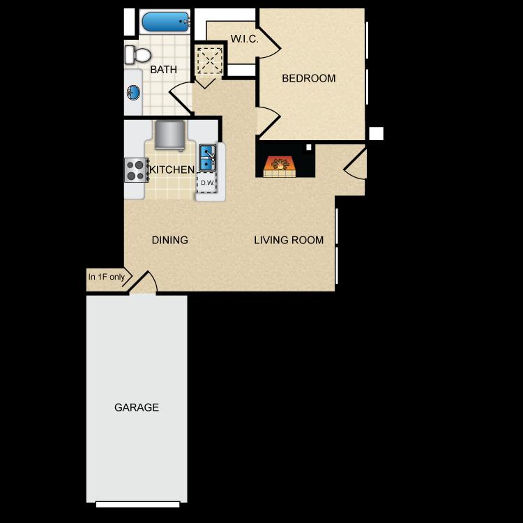 Floor plan image of Via Roma
