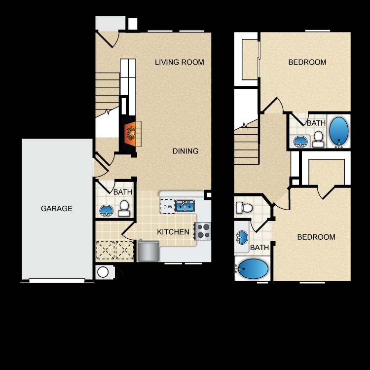 Floor plan image of Via San Lucia