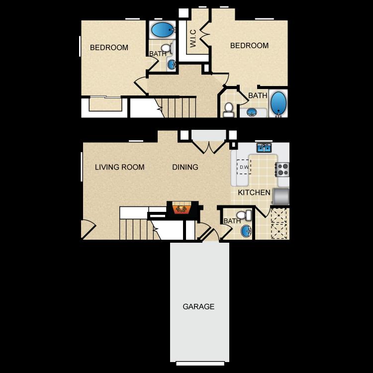 Floor plan image of Via Lyon