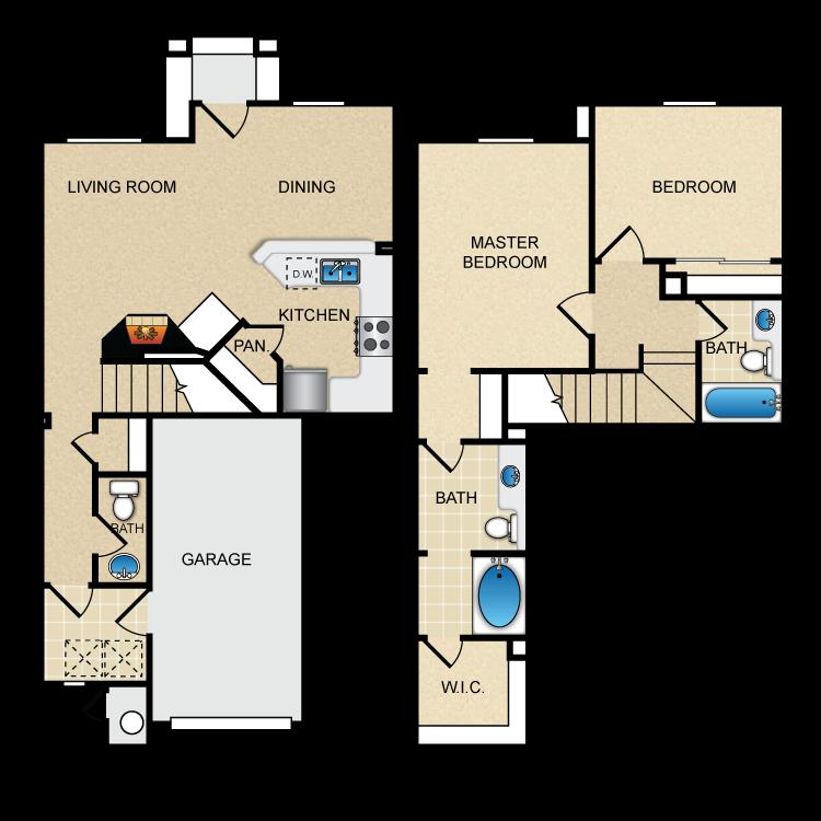 Floor plan image of Via Chantily