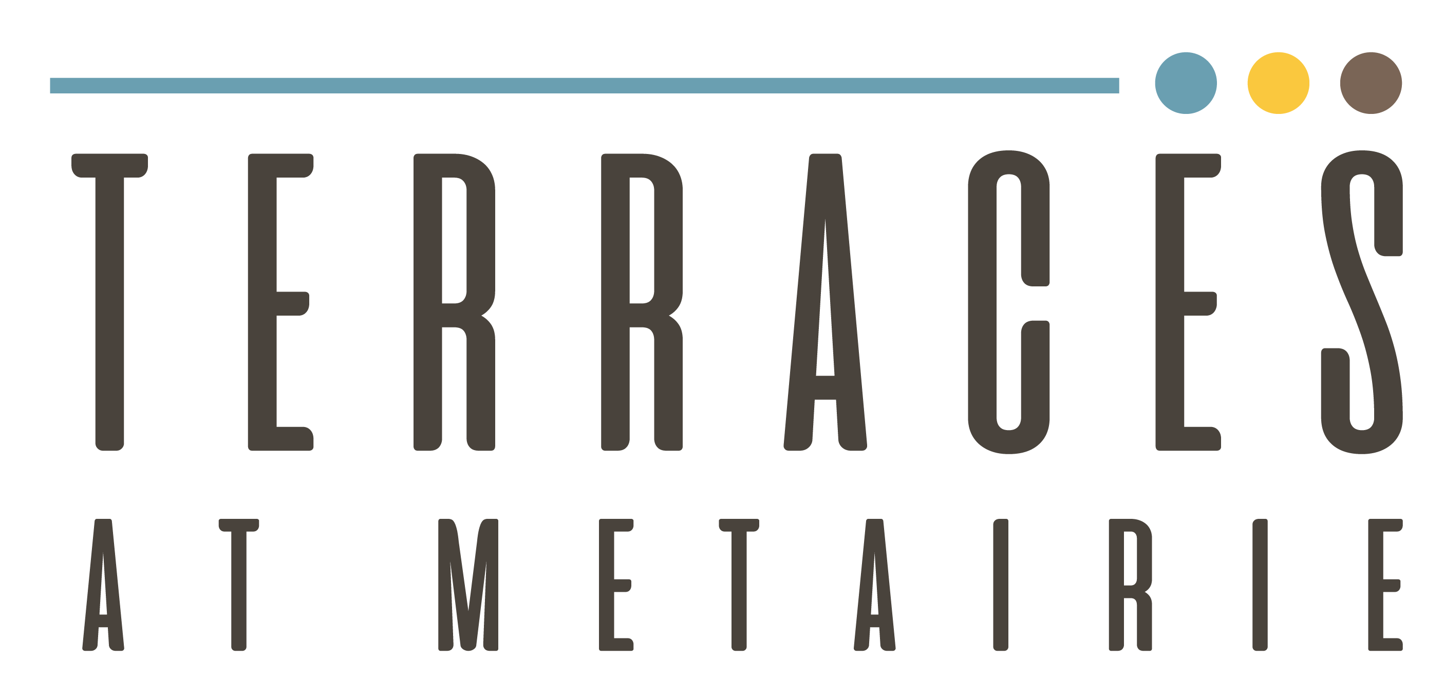 The Terraces at Metairie I Logo