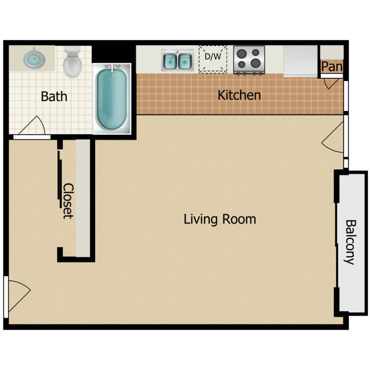 Plan 14 floor plan image