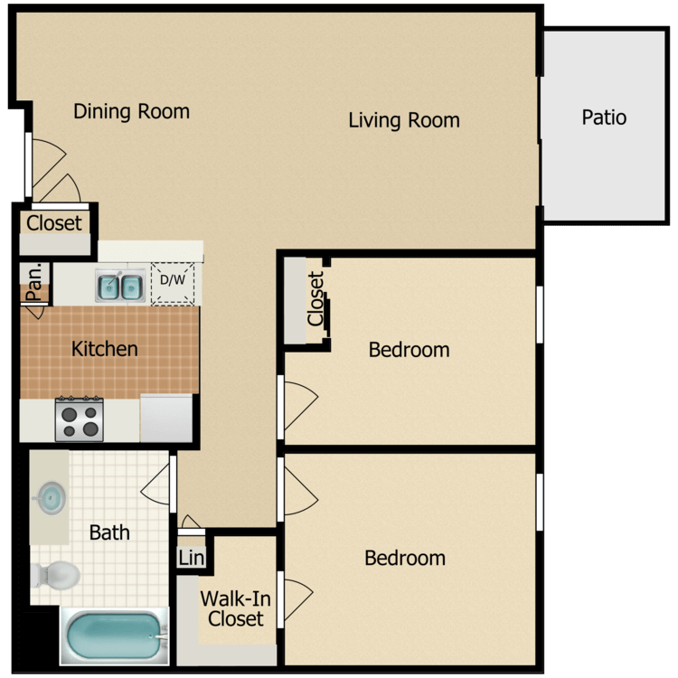 Floor plan image of Plan 6