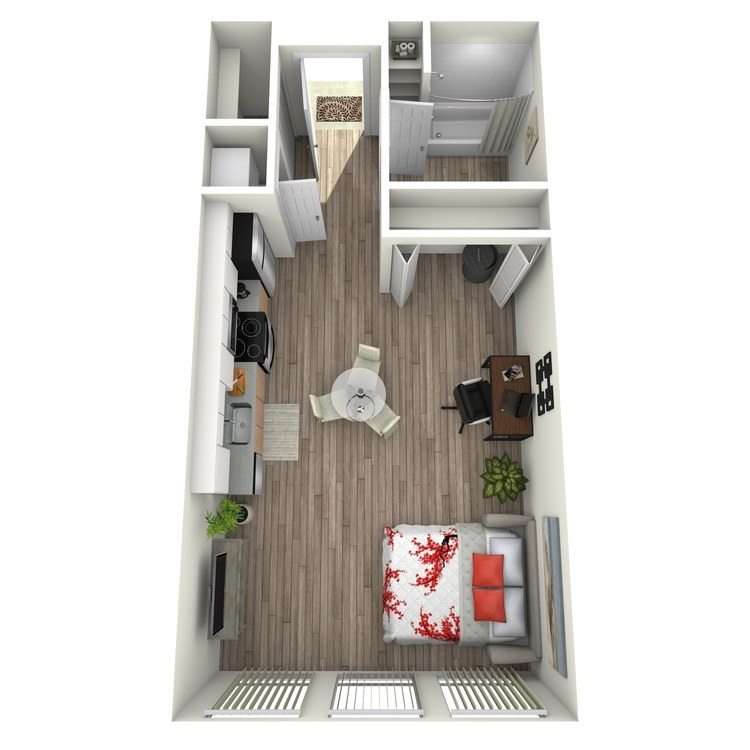 Floor plan image of Maison: A