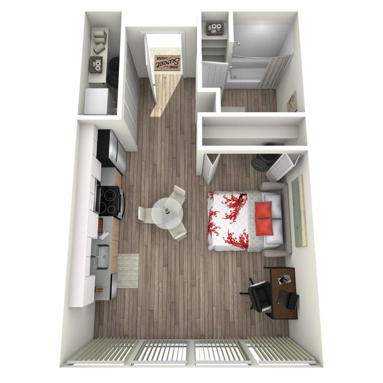 Floor plan image of Maison: E