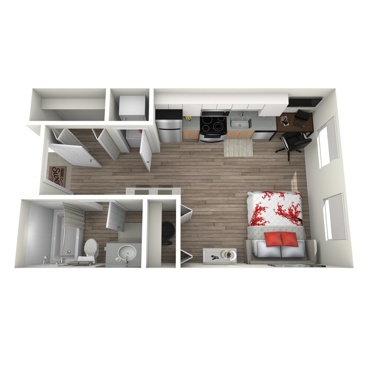 Floor plan image of Maison: F
