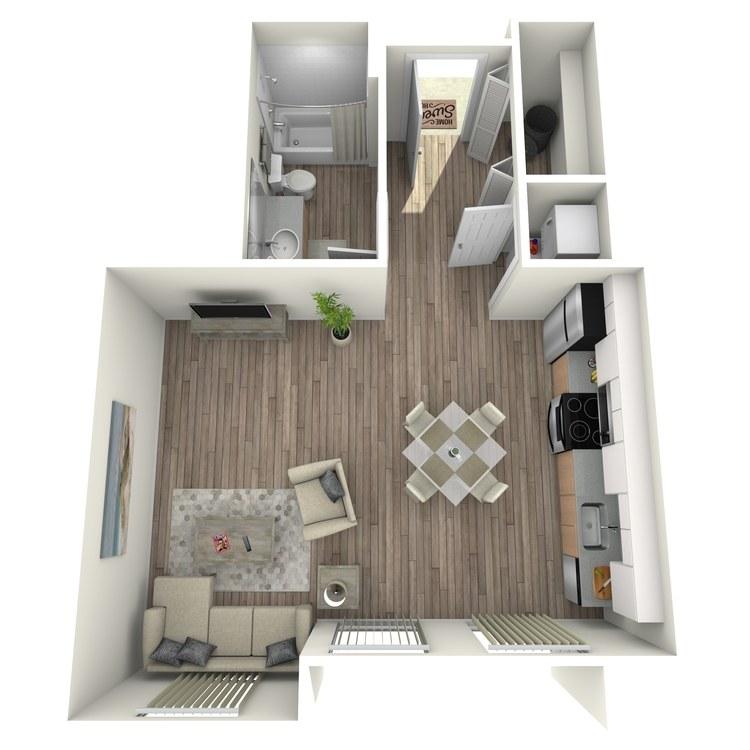 Floor plan image of Maison: B