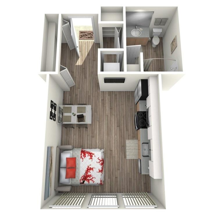 Floor plan image of Maison: C