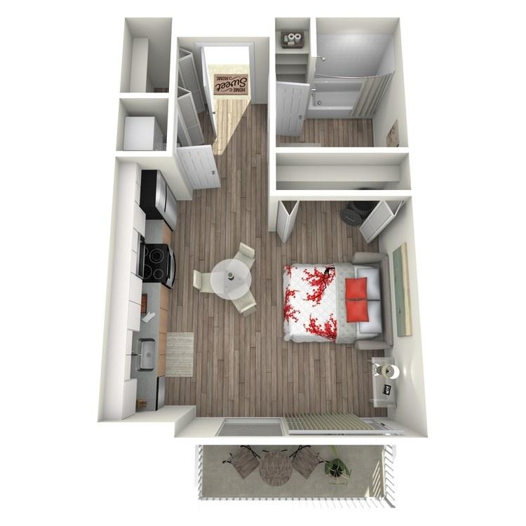 Floor plan image of Maison: D