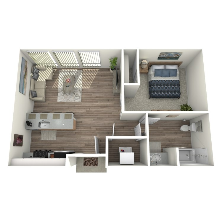 Floor plan image of Chateau: B