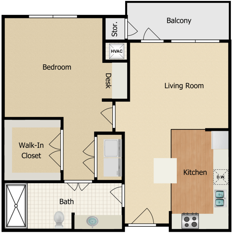 Floor plan image of Holly