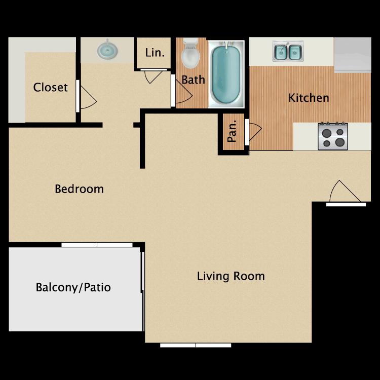 Floor plan image of Jill