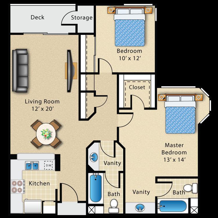 Floor plan image of Plan G