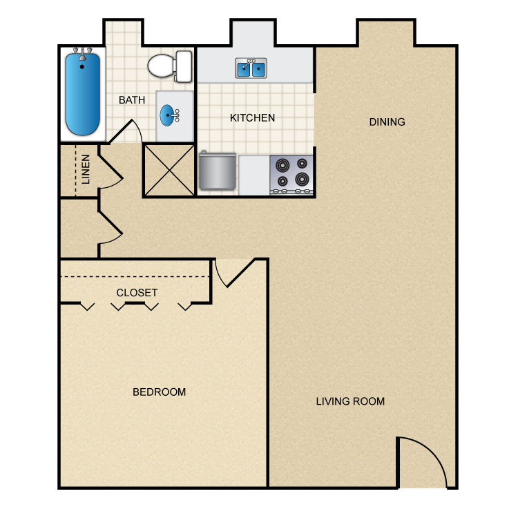 Floor plan image of A1/A2