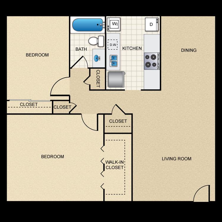 Floor plan image of B1/B2