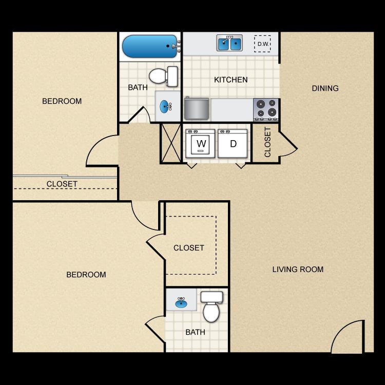 Floor plan image of C1/C2