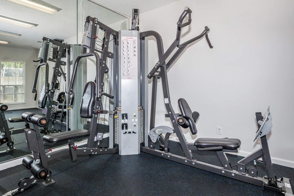 Get fit in our state-of-the-art fitness center at Greyeagle in Taylors, South Carolina.