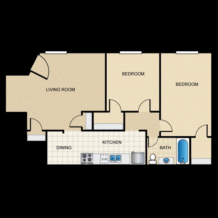 Floor plan image of Colonial