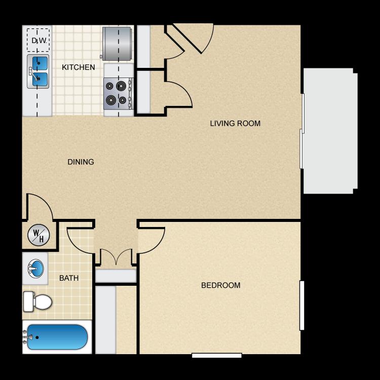 Floor plan image of Doral