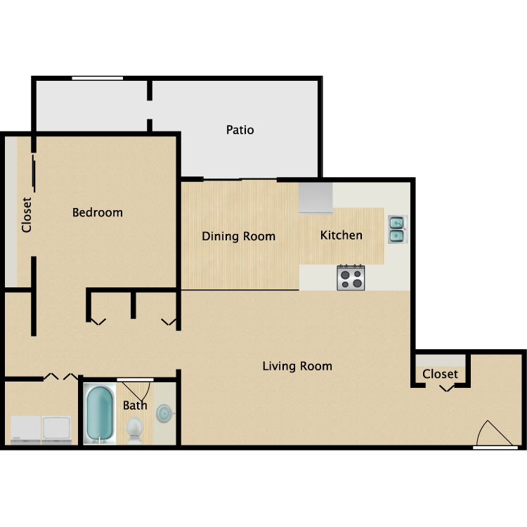 Floor plan image of Mohave