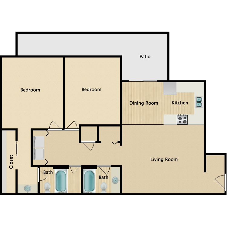 Floor plan image of Oasis