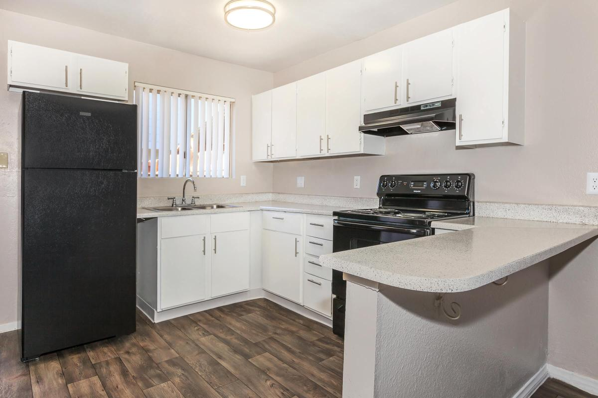 GREEN TREE TOWNHOMES IN LAS VEGAS HAS ALL-ELECTRIC KITCHENS