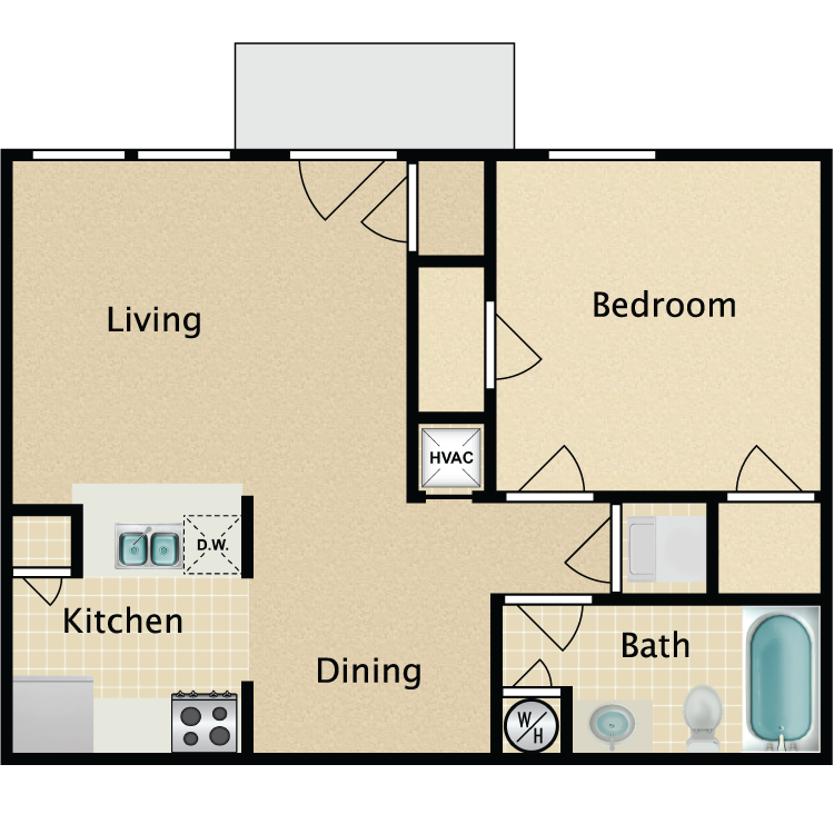 The Stratford floor plan image