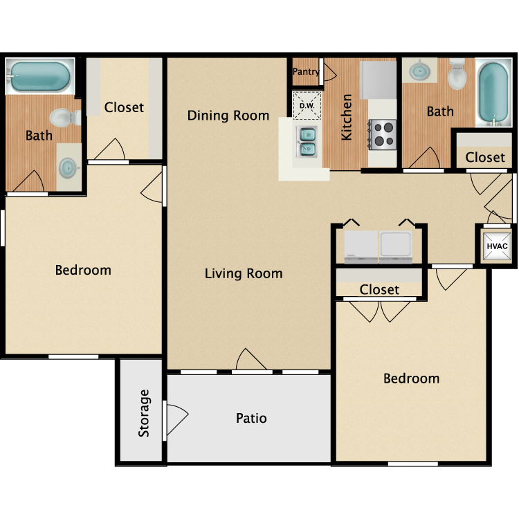 Floor plan image of Calumet