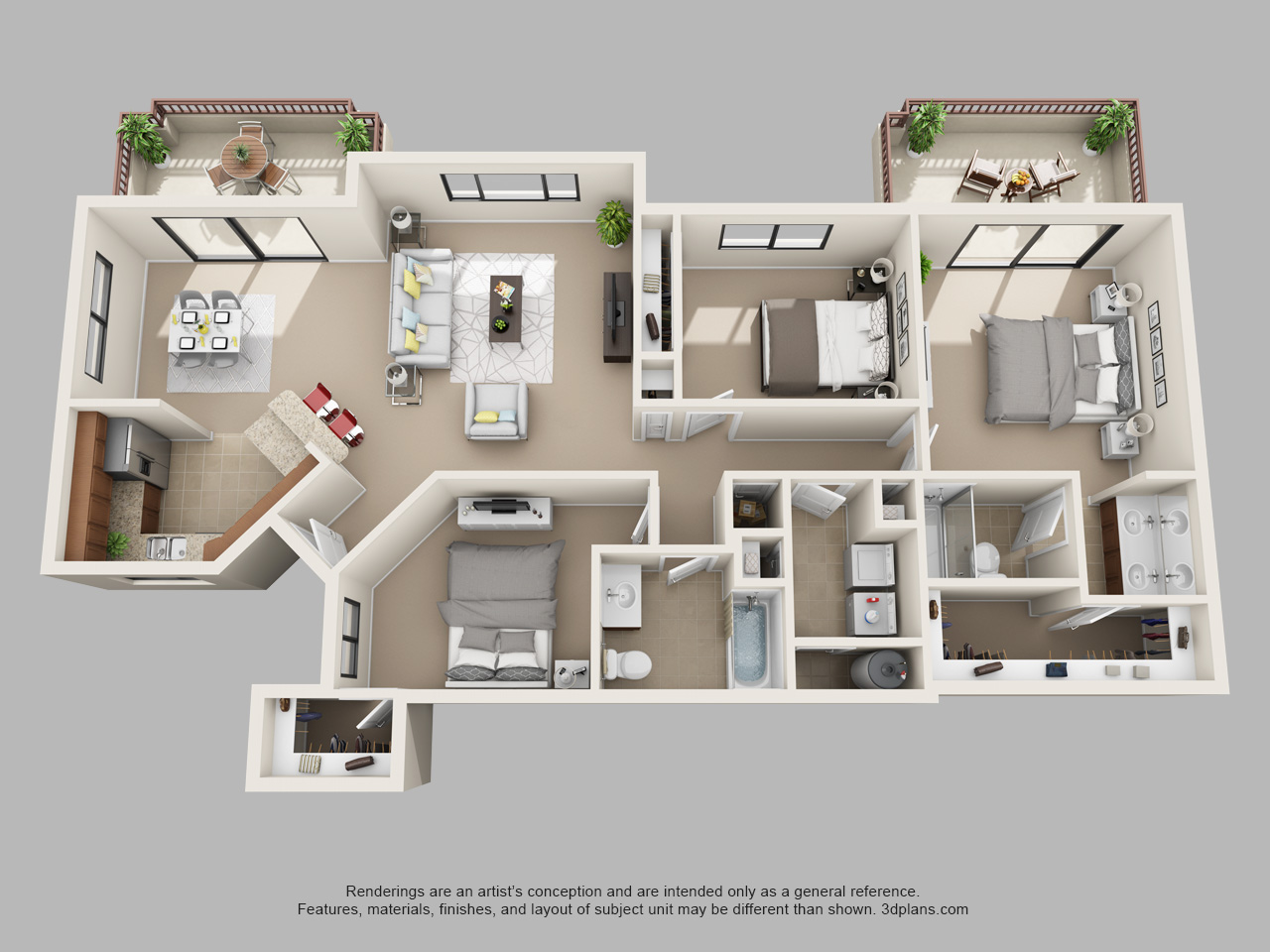 Floor plan image of Ashley