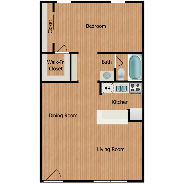 Floor plan image of Platinum Garden Level