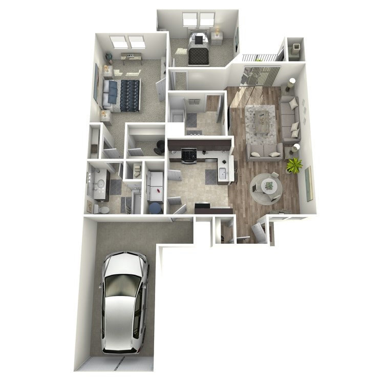 Floor plan image of Asbury