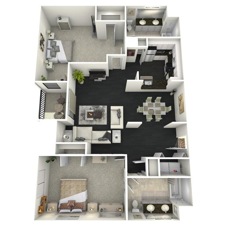 B6 floor plan image