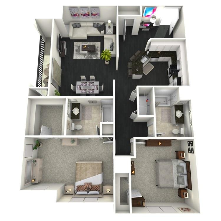 B4 floor plan image
