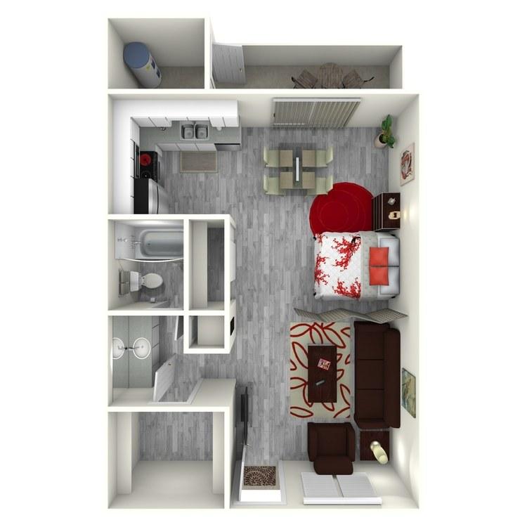 Floor plan image of Kona
