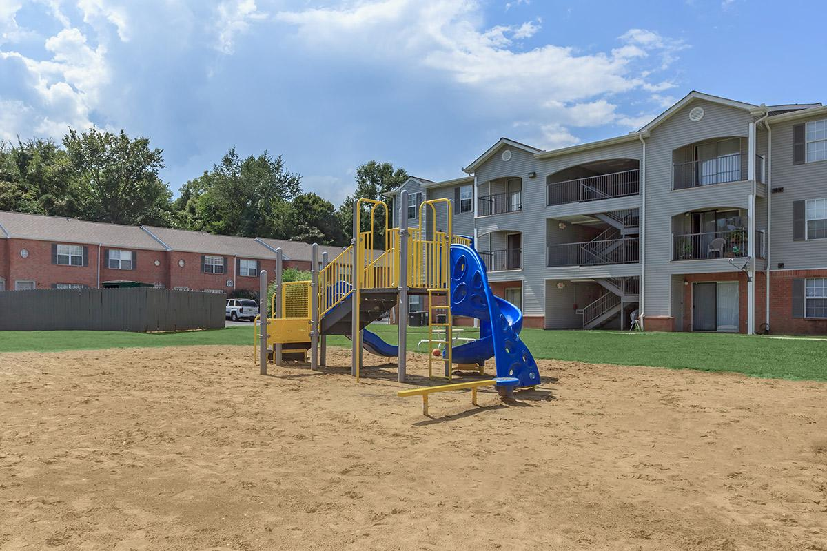 play area at Cedar Pointe Apartments in Colombia, Tennessee