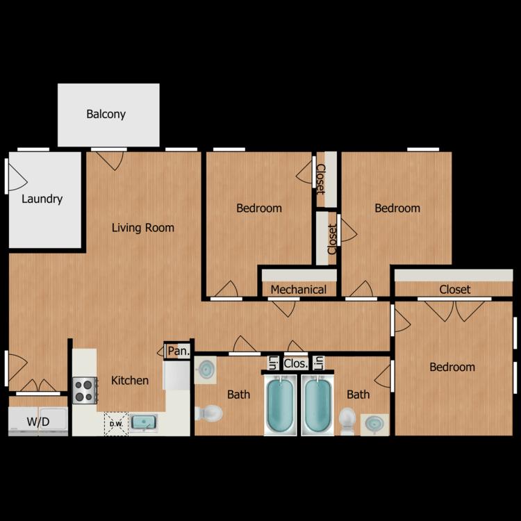 Floor plan image of Archer
