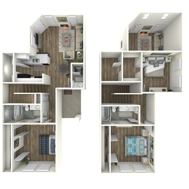 C1 floor plan image