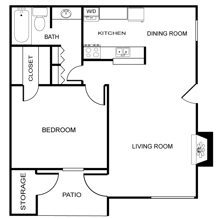 Floor plan image of The Castile